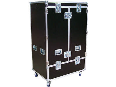 Flightcases aus Holz und Polypropylen