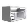 Alukiste Transportboxen.at WK 1343 mit Schubladencontainer