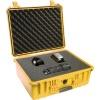 Fotokoffer Peli 1550 Gelb