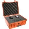 Fotokoffer Peli 1550 Orange