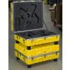 PE-HD Behälter bruchfest mit Schaumstoffeinsatz nach Maß