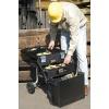 Werkzeugkasten Stanley 210 für optimalen Zugriff auseinanderklappbar