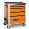 Werkzeugwagen Beta C24S O/5 Orange
