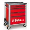 Werkzeugwagen Beta C24S R/5 Rot