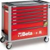Werkzeugwagen Beta C24SA-XL/7 Rot
