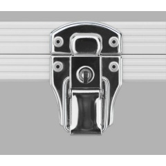 Alukoffer Perfect Automatikschloss chrom mit Schlüssel