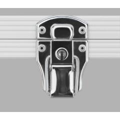Alukoffer Professional Automatikschloss chrom mit Schlüssel