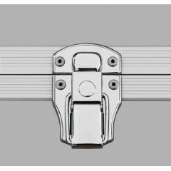 Alukoffer Professional Automatikschloss chrom ohne Schließwerk