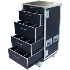 Flightcase Transportboxen.at 120/5B-D