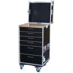 Flightcase Transportboxen.at A120/3C-D