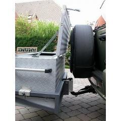 Heckboxen Jeep