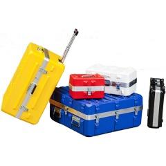 PE-HD Behälter in verschiedenen Farben und Größen