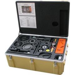 PE-HD Behälter mit Innenausbau in Sonderfarbe