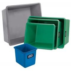 Rechteckbehälter Cemo REB 300 mit Staplertaschen