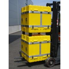 Transportbehälter aus PE-HD stapelbar in Sondergröße