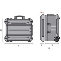 Werkzeugkoffer GT-Line Turtle Skizze